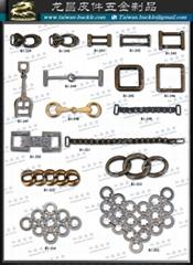 Túi xách phụ kiện kim loại belt buckle Thẻ kim loại