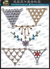 Apparel Shoes Accessories Rhinestone Swimwear Metal Chain