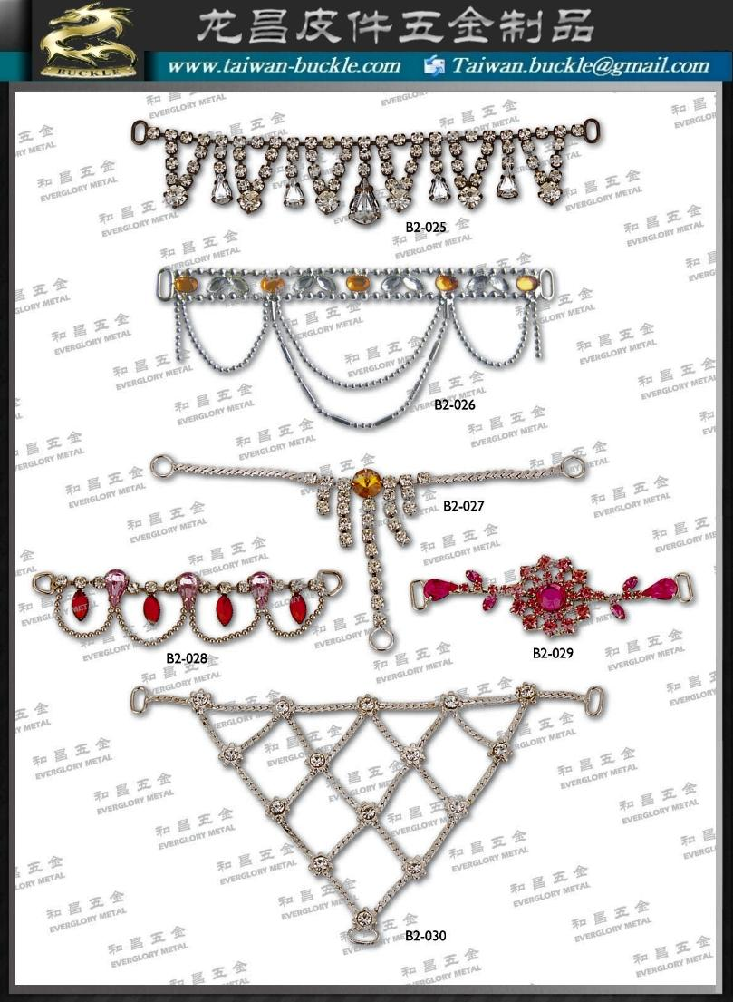 Clothing Lingerie Shoes swimwear water diamond chain hardware accessories 3