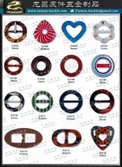 圓形扣 圓環 飾釦 皮件 鞋飾 服裝 五金配件179