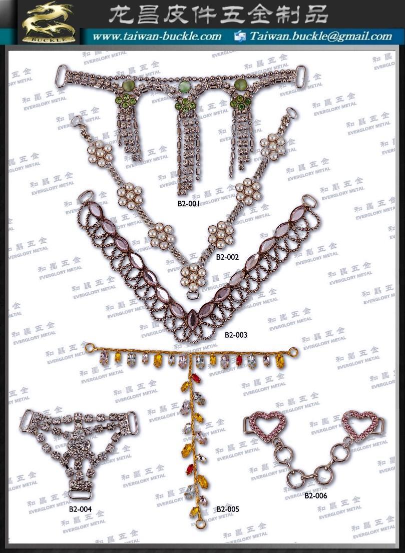 五金釦環 錶扣 袋扣 帶頭 配件 皮件 3