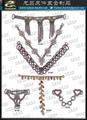 Webbing belt buckle clasp Hardware square  Footwear collar strap belt