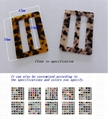 玳瑁塑胶扣 服装扣 时装扣 服饰釦 2