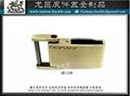 金屬銘牌 商標飾片 品牌配件 五金零件  開發 設計 打樣 製造 3