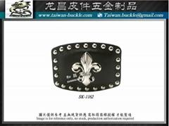 Pirate belt buckle made in taiwan