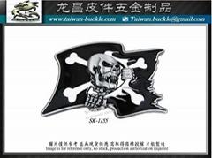 海盗皮带扣  开发 设计 打样 制造
