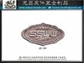 Custom Metal trademark nameplate custom logo