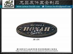 金屬logo    吊牌 客製