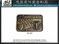 Custom LOGO iron medal Metal Bronze tag