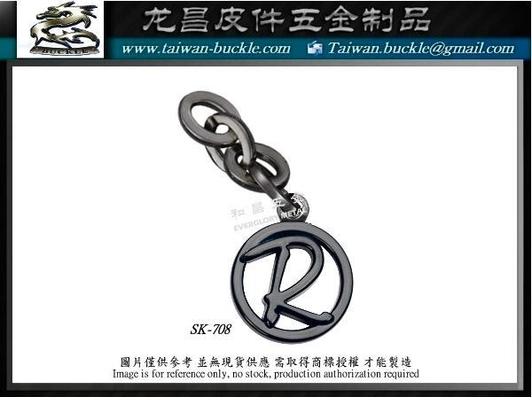 Metal tag custom Design production factory Metal brand accessories 6