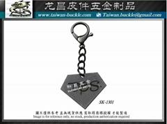 Brand accessories Logo Tag Metal
