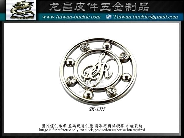 Brand accessories Metal Logo Tag MADE IN TAIWAN 5
