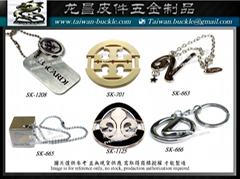 Brand accessories Metal Logo Tag MADE IN TAIWAN