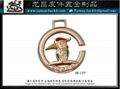 皮包 皮件五金 皮革飾品 完賽獎牌 訂做  LOGO 5