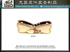 皮包五金 蝴蝶結 金屬夾扣 磁鐵釦