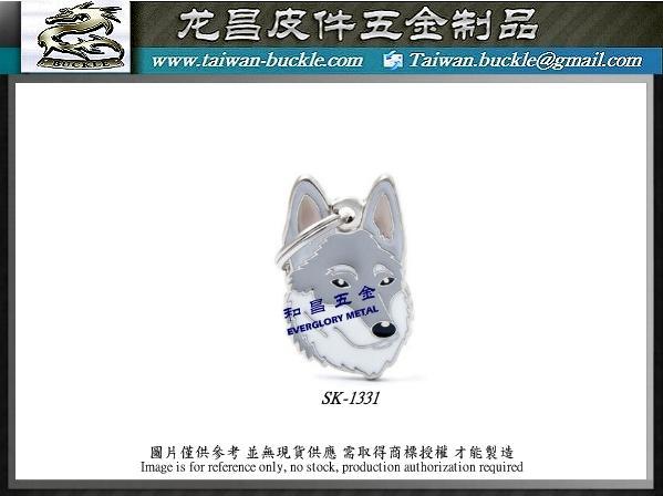 寵物五金 客製吊飾 貓狗吊牌 1