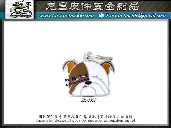 寵物五金 客製吊飾 貓狗吊牌 3