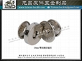 14mm double-sided strike nail magnetic buckle