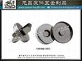 14mm立體方型磁扣