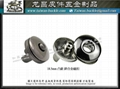 18mm single side hitting nail magnetic buckle