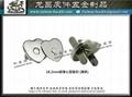 生產 :花紋磁扣 磁性按扣 手縫磁扣 撞釘磁釦