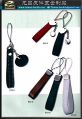 手机颈鍊,品牌首饰,手机皮吊饰 真皮钥匙圈