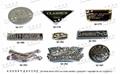 金屬五金飾扣,水鑽扣,銘牌 5
