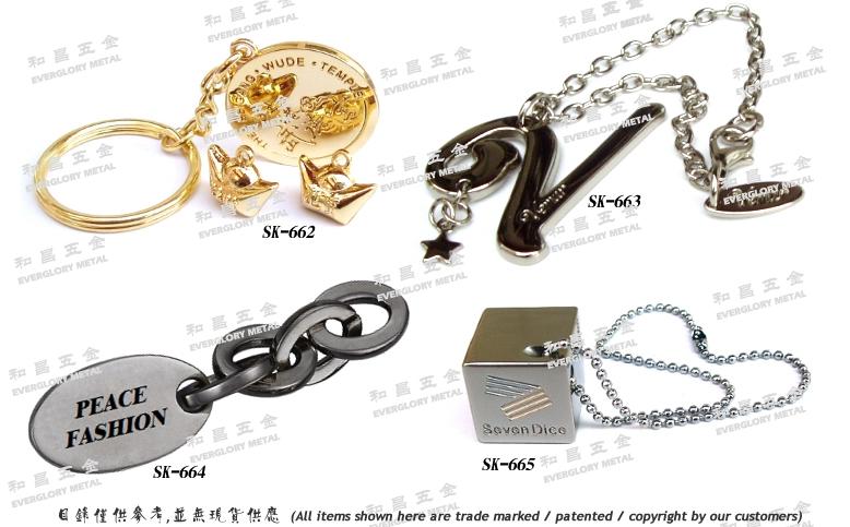 水鑽金屬飾品扣具 2