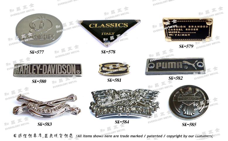 水鑽金屬飾品扣具 3