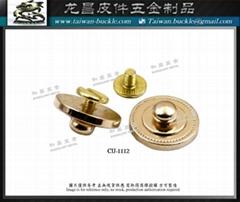 五金飾片 螺絲扣 金屬扣具