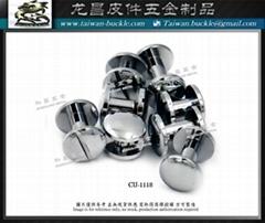 Metal button brass turnbuckle