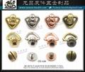 金屬 五金  扣具 帶扣 飾片-螺絲扣