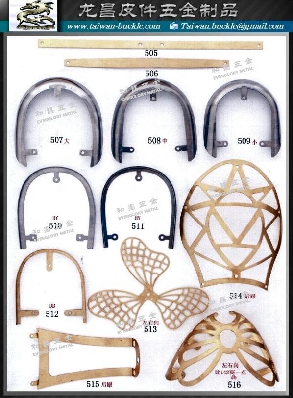 鞋材五金 金屬飾片 鐵頭片  3