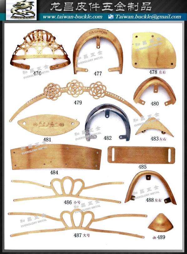 鞋材五金 金屬飾片 鐵頭片  4