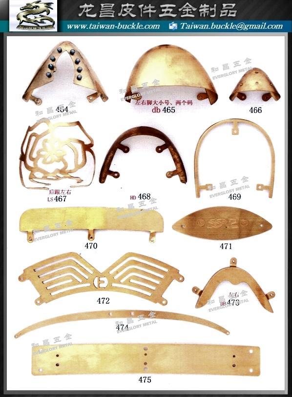 鞋材五金 金屬飾片 鐵頭片  5