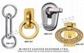 皮件五金 品牌包配件 金屬旋轉鉤