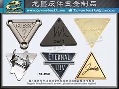 三角形金屬標牌