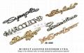 金屬LOGO 皮件飾品  完賽獎牌 開發 設計 生產