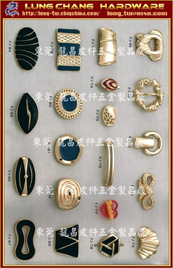 鞋類 服裝 皮革 發飾 金屬裝飾品 五金 配件                    4