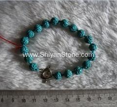 Natural Turquoise Bracelet(YD272)