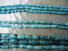 Gem(Turqoise drum beads)YD016