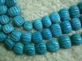 Turquoise lantern beads(YD031)