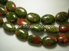 Unakite(puffy ovals)