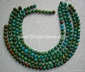Round turquoise beads(YD001)