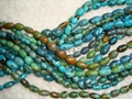 Barrel turquoise beads(YD003)