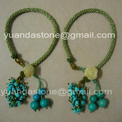 Natural turquoise bracelets (YD261)
