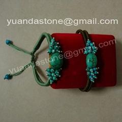 Natural turquoise bracelets (YD262)