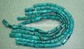 Gem(pillow turquoie beads)YD015
