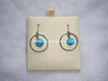 Turquoise  earrings(YD307)