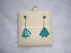 Turquoise earrings(YD306)